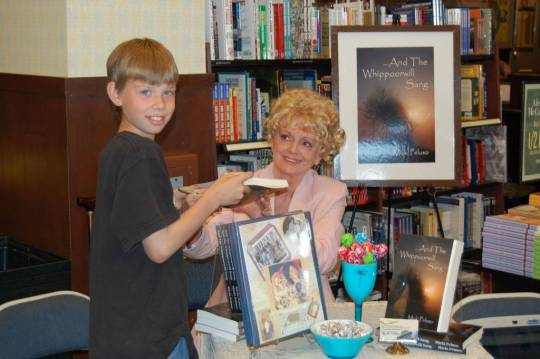 Micki Peluso and book signing